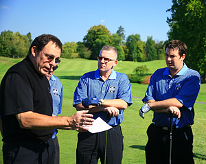 Corporate golf day - Professional briefing