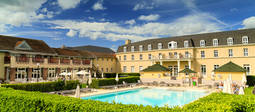 The Dolce Chantilly Hotel Is About Five Minutes From Centre Of Town Concealed In Thick Royal Forests Behind Stunning Château And Just