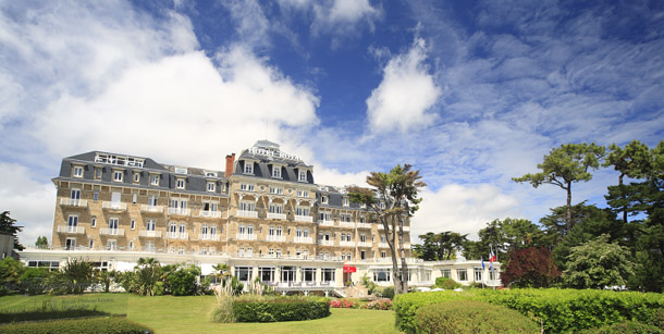 The best la baule hotels for golf breaks and golf holidays for Hotels la baule