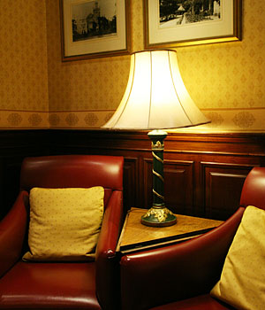 Marriott Breadsall Priory - a quiet corner of the lounge