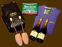 Champagne Prize Parcel for golf holiday groups