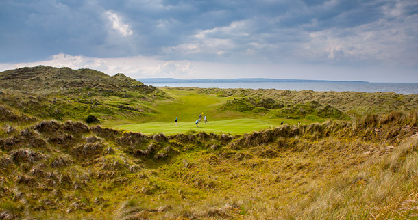 Enniscrone Golf Club, Ireland.