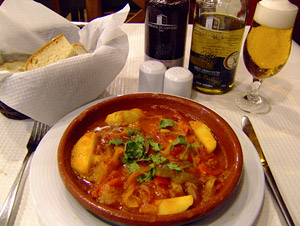 Portugeuse fish stew