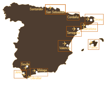 Our Spanish golf holiday destinations